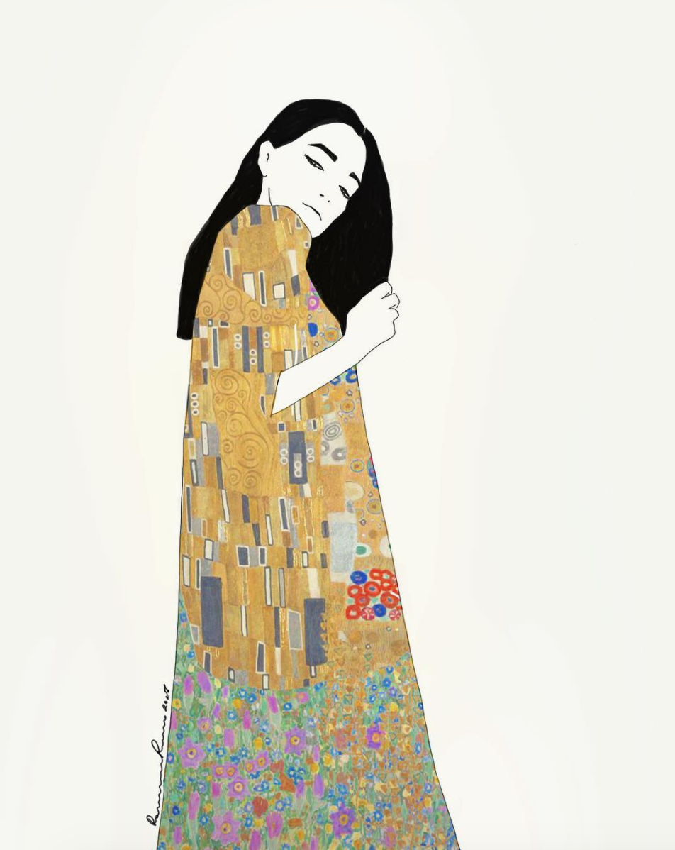 Klimt series by Ramona Russu